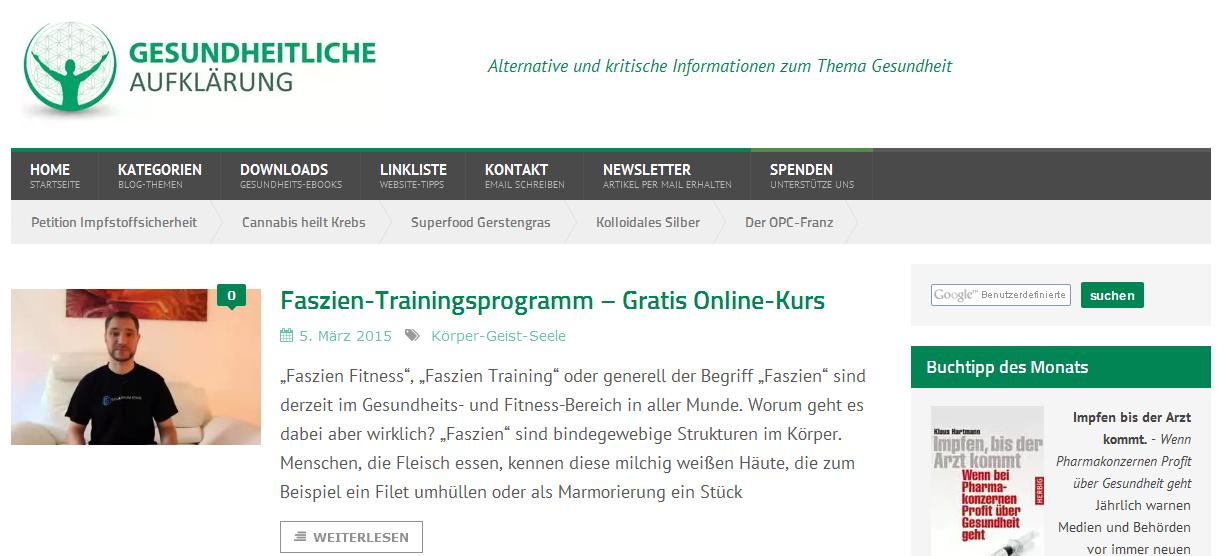 Screenshot www.gesundheitlicheaufklaerung.de 05.03.15