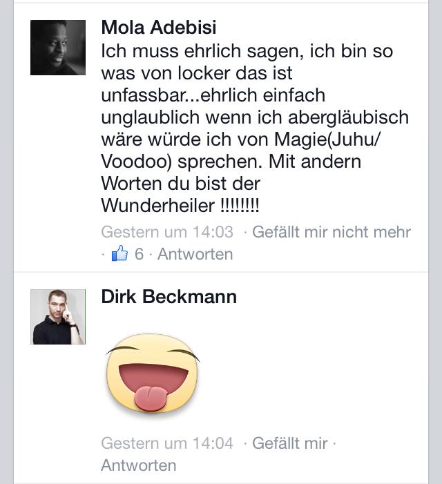 Mola Adebisi Faszien Dirk Beckmann