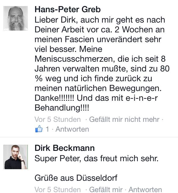 Peter Greb Faszien Dirk Beckmann