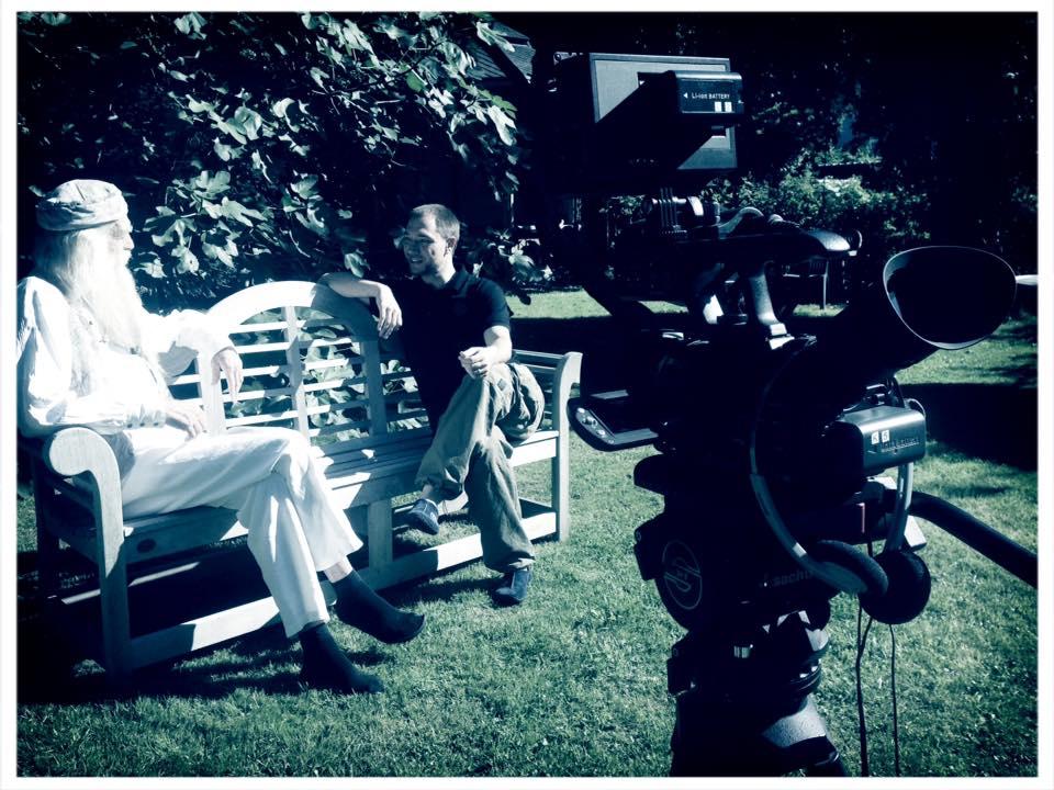 Im Interview für die DVD